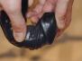 Nevibrační gelové dildo
